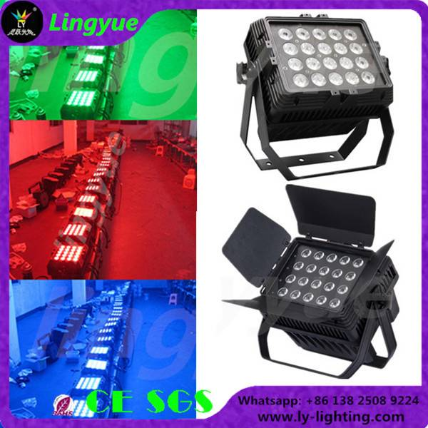 outdoor 20x12w rgbw 4in1 par can led stage light