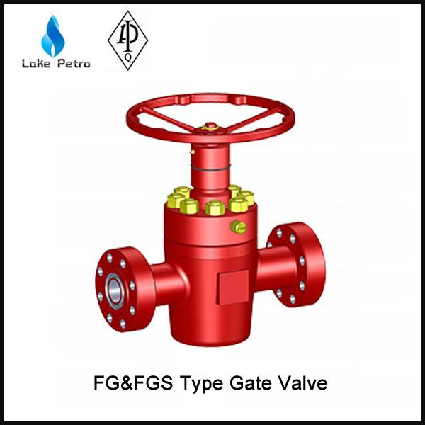 LAKE API FG And FGS Type Gate Valve In Oilfield