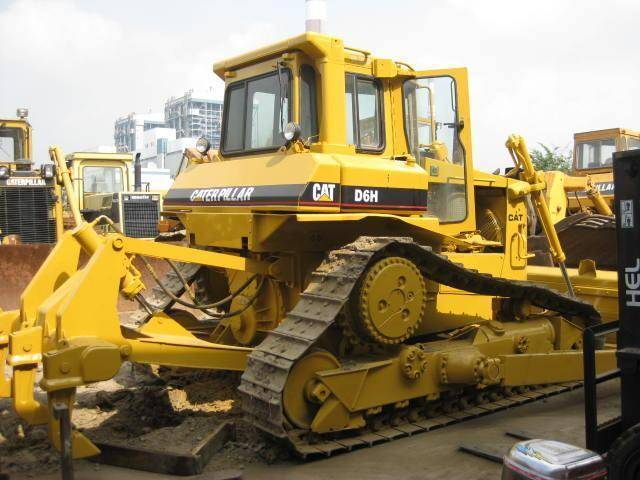 Used CATD6H bulldozer
