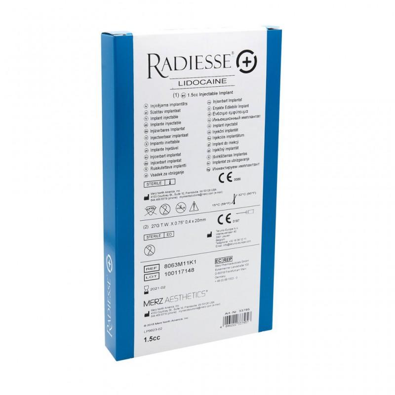Radiesse (+) with Lido 1.5ml