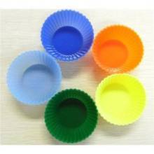 Silicone cup cake bakeware sets