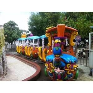"Kids train on rail ""Pirate Train"""
