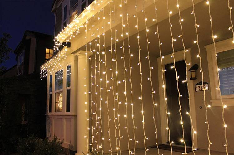 Curtain Light   Festive & Party Supplies >> Christmas Decoration