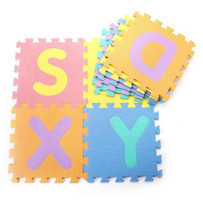 36PCS EVA BABY PLAY MAT educational alphabet mat and digital letter mat