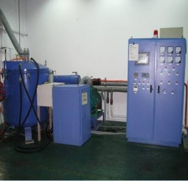 Stable quality intermediate frequency carbonization furnace