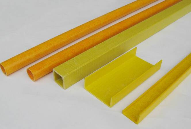 Pultruded Fiberglass I,round tube,channel profiles