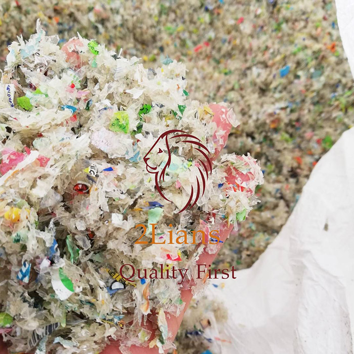 Pet Chips Flakes Recycled Plastics Scrap