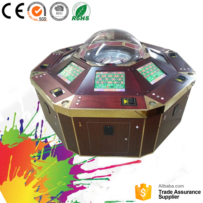 High profits electronic original roulette wheel machines with warranty