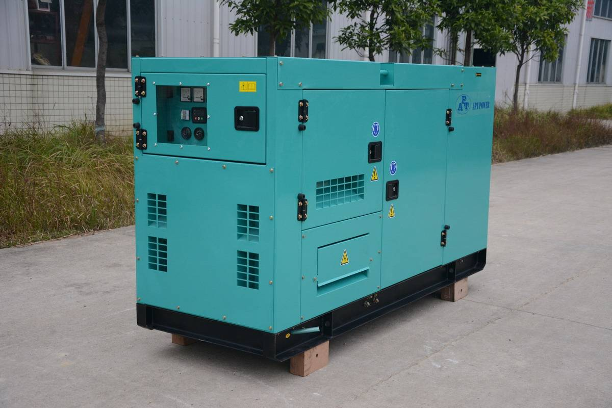Silent Generator Set with 90kVA at 1500rpm 50Hz