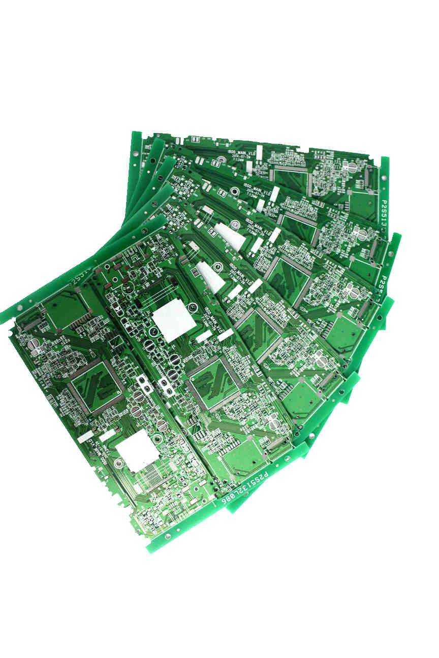 4-layer LF HASL PCB 0.6mm Board Thickness