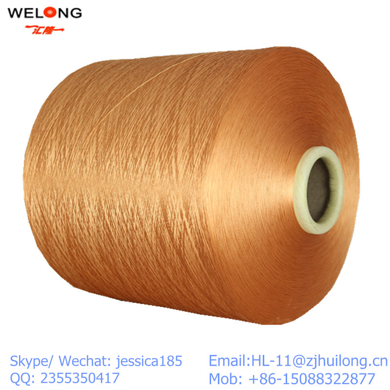 dope dyed polyester filament dty yarn