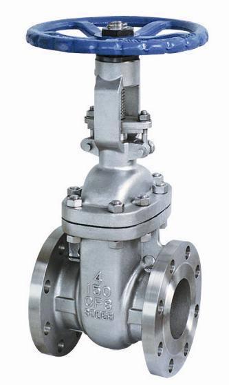ANSI flanged gate valve
