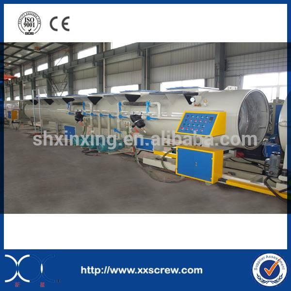 CE certificate PE pipe extrusion machine