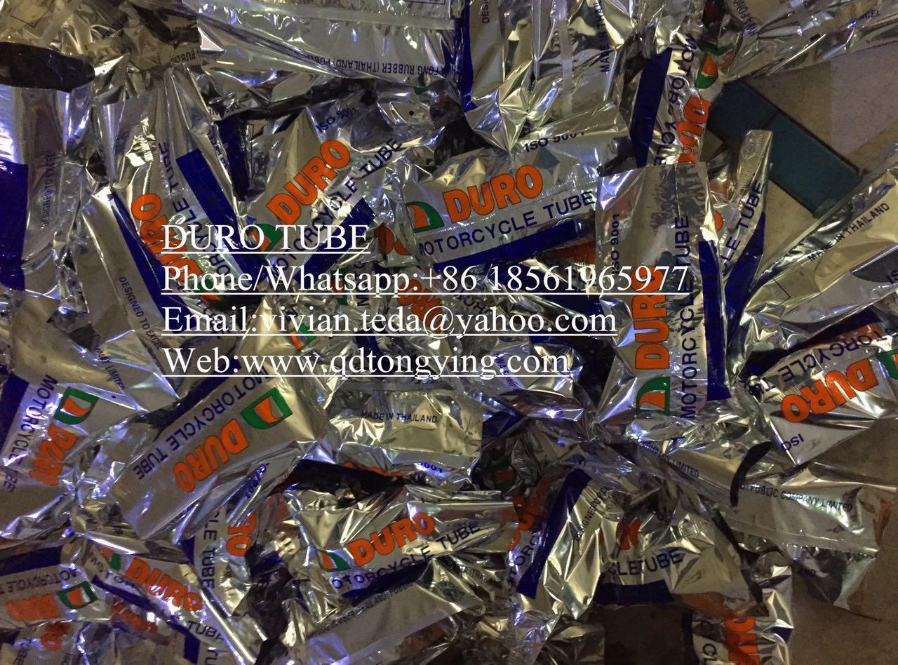 Butyl rubber tubes