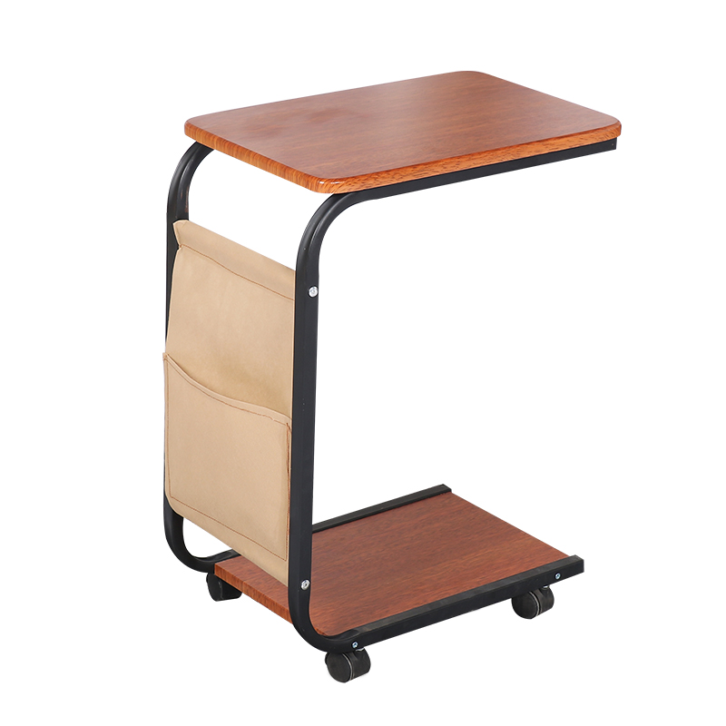 PC and mobile simple sofa side table mini coffee table living room movable table bedside table mobil