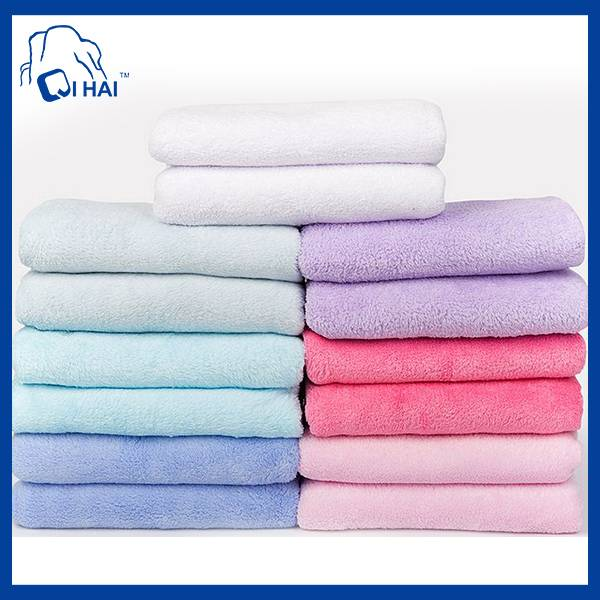 20% Polyeaster 80% polyamide Microfiber Bath Towel (QHC00112)