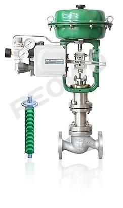 10P50 bellows seal single-seat control valve
