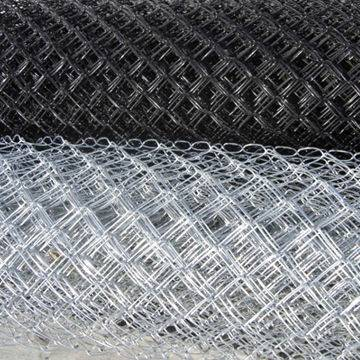3mm PVC Coated Chain Link Fence Factory with High Quality