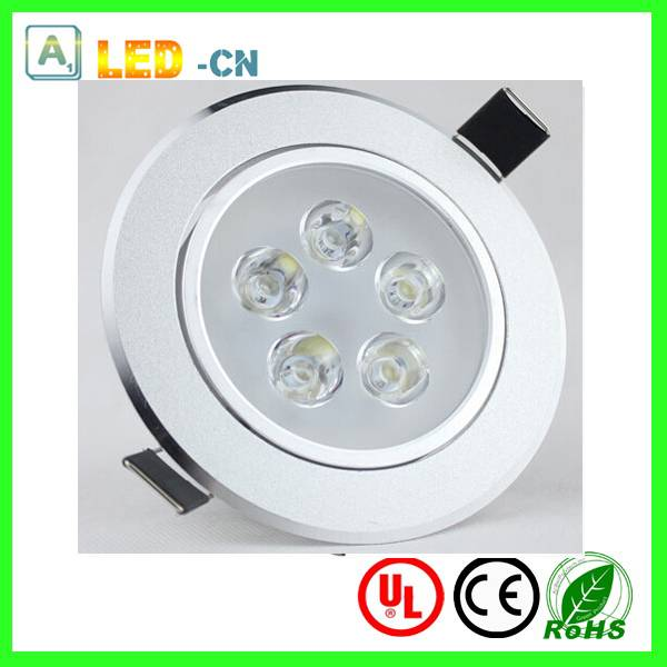 5w high power led ceiling light