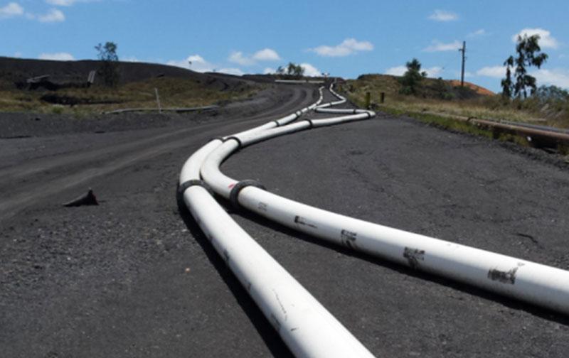 UHMWPE Mining Pipe