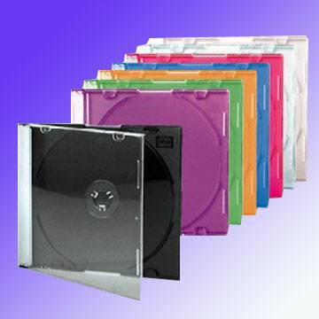 5.2MM Slim Transparent Colorful CD Case