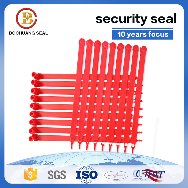 200mm fixed length disposable plastic strap seal P601
