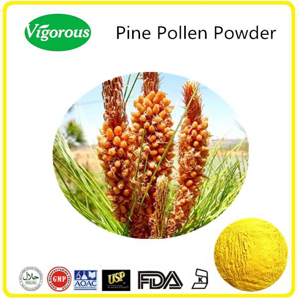 GMP manufacturer cell wall broken pine pollen powder/bulk pine pollen powder/pine pollen powder