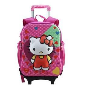Hotselling kids trolley backpack