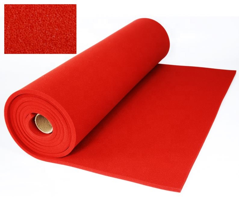 Factory direct sales of high temperature resistant silicone foam sheet for steam pressing machine