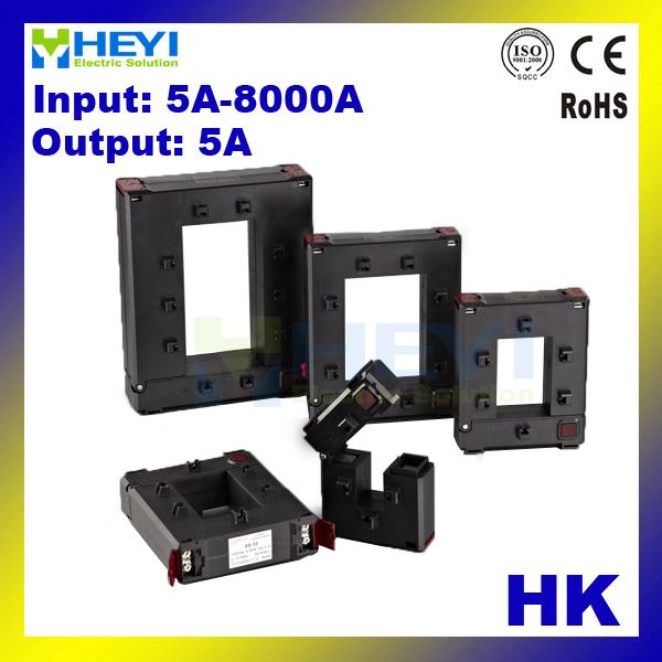 HEYI split core din rail current transformer HK-23 HK-58 HK-812 HK-816
