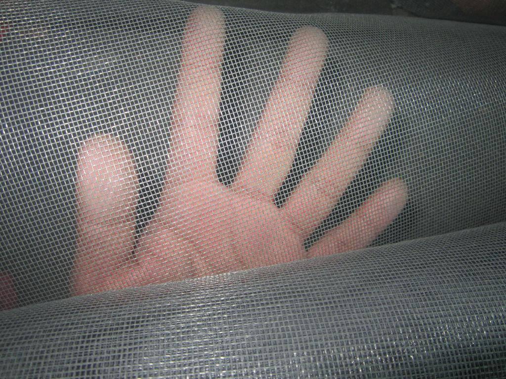 Gray 120G/M2 18mesh16mesh Fiberglass Window Insect Screen for Fly Screen Mesh