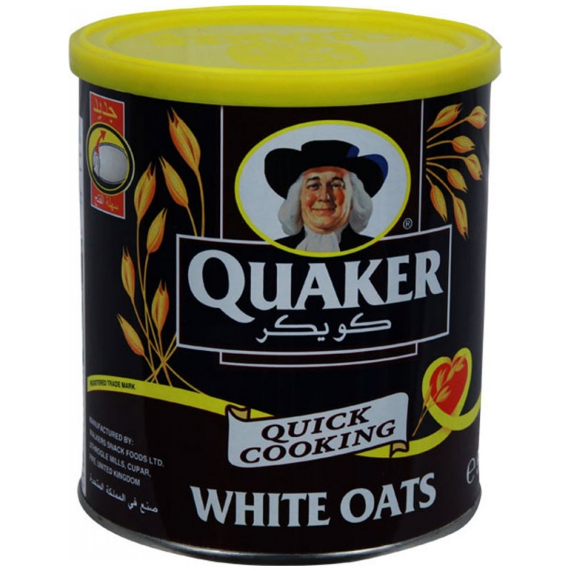 Quality quaker oats quick cooking white oats