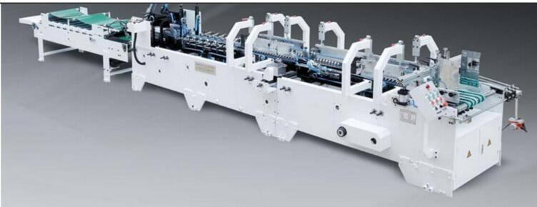 LC-B auto high-speed pre-fold gluing machine