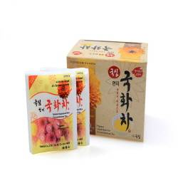 Unpolished Rice Chrysanthemum Tea
