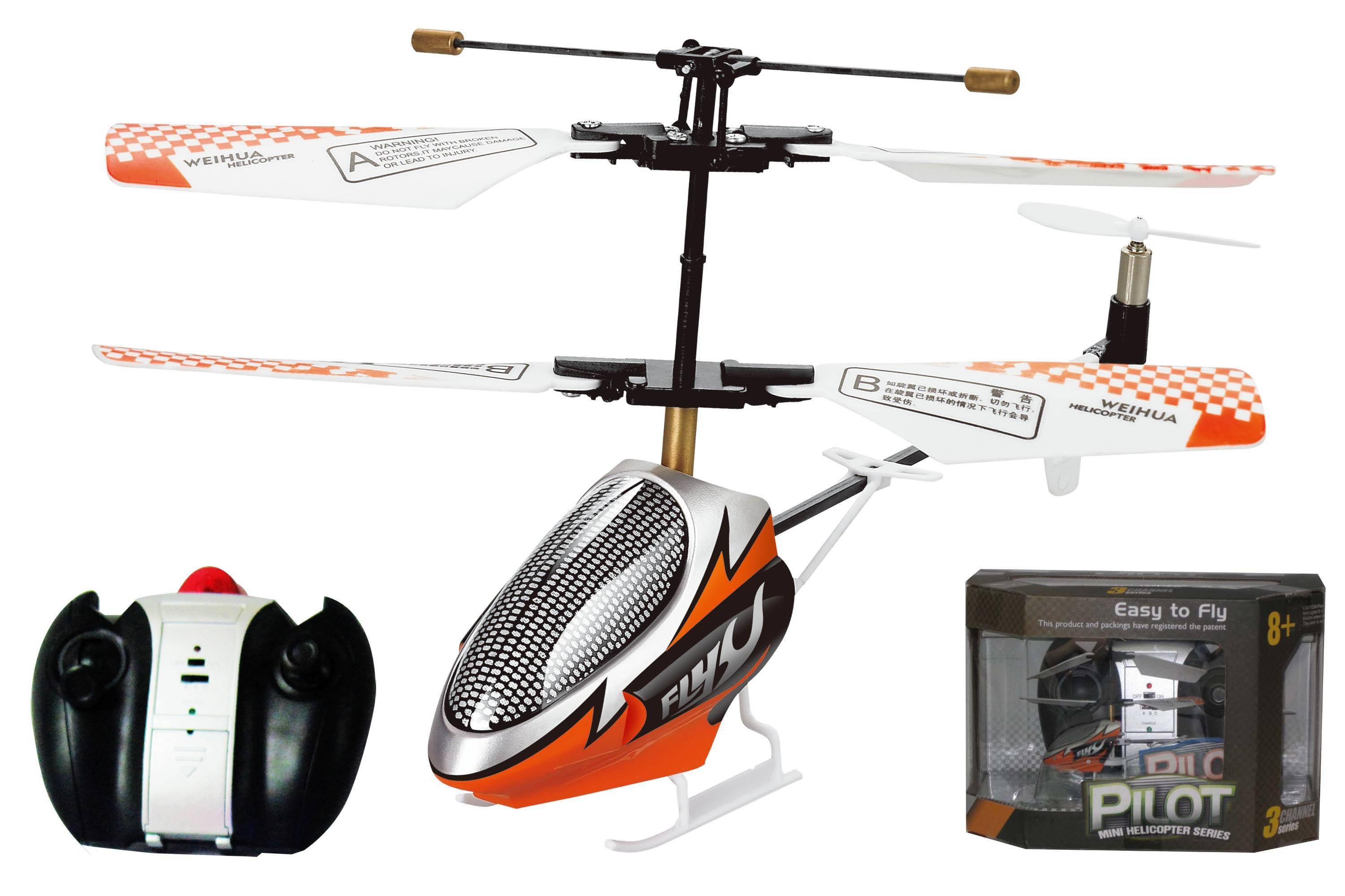 3 CH mini RC helicopter 20808