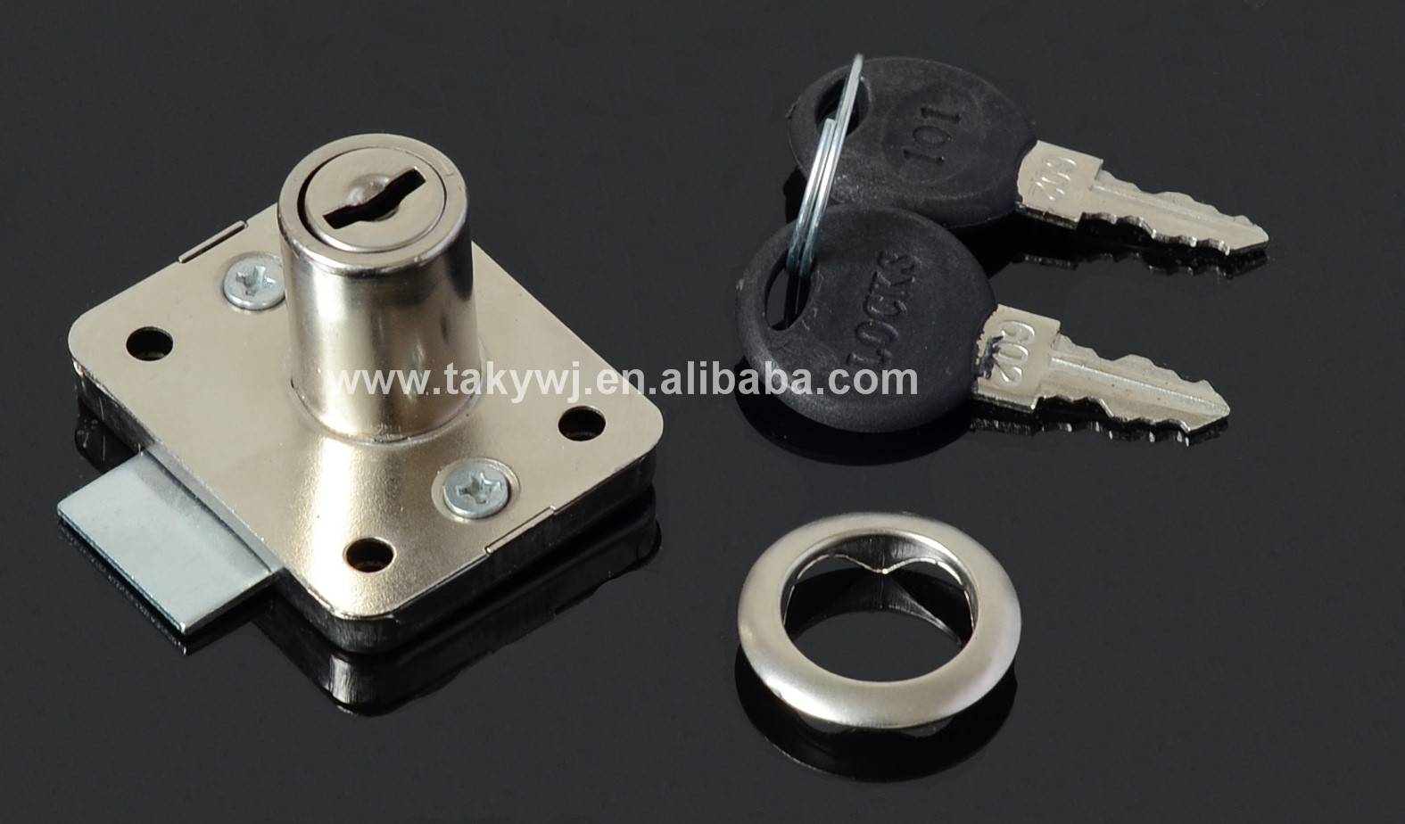 101 TAKY iron cabinet drawer lock for furniture