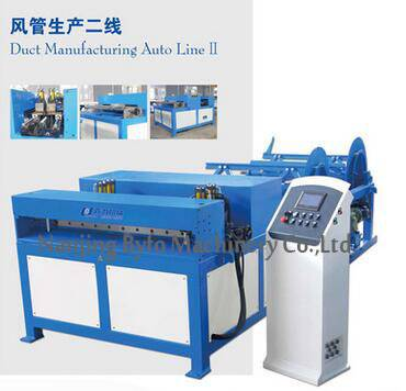 Byfo Rectangular Square Air Duct Production Line