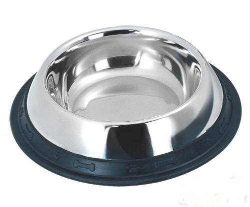 Stainless steel pet food container