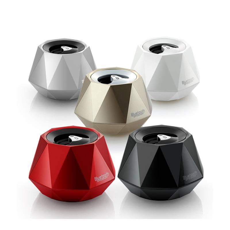 Top Quality Luxury Diamond Shape Mini Bluetooth Speaker
