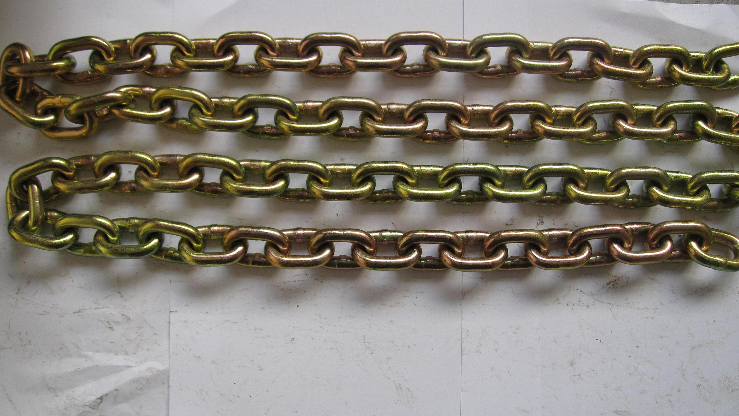 Galvanized link chain