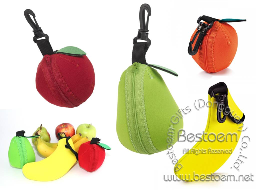 Neoprene fruit jackets banana jackets apple jackets