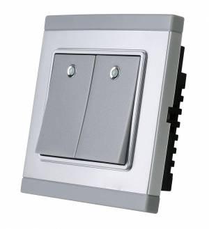 Smart RF two button wireless smart remote switch