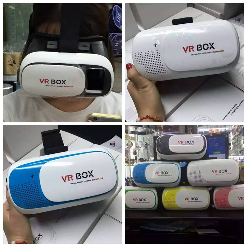 CellPhone VR Box Virtual Reality Glasses, Cell phone Video Glasses For mobile phone Size 4.7-6.0