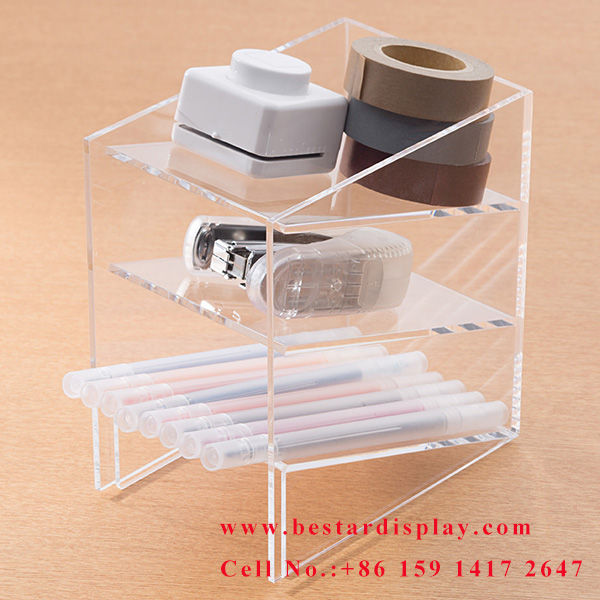 Reliable China supplier custom Plexiglass PMMA acrylic organizer