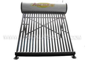 Non pressure thermosiphon tubular solar water heater
