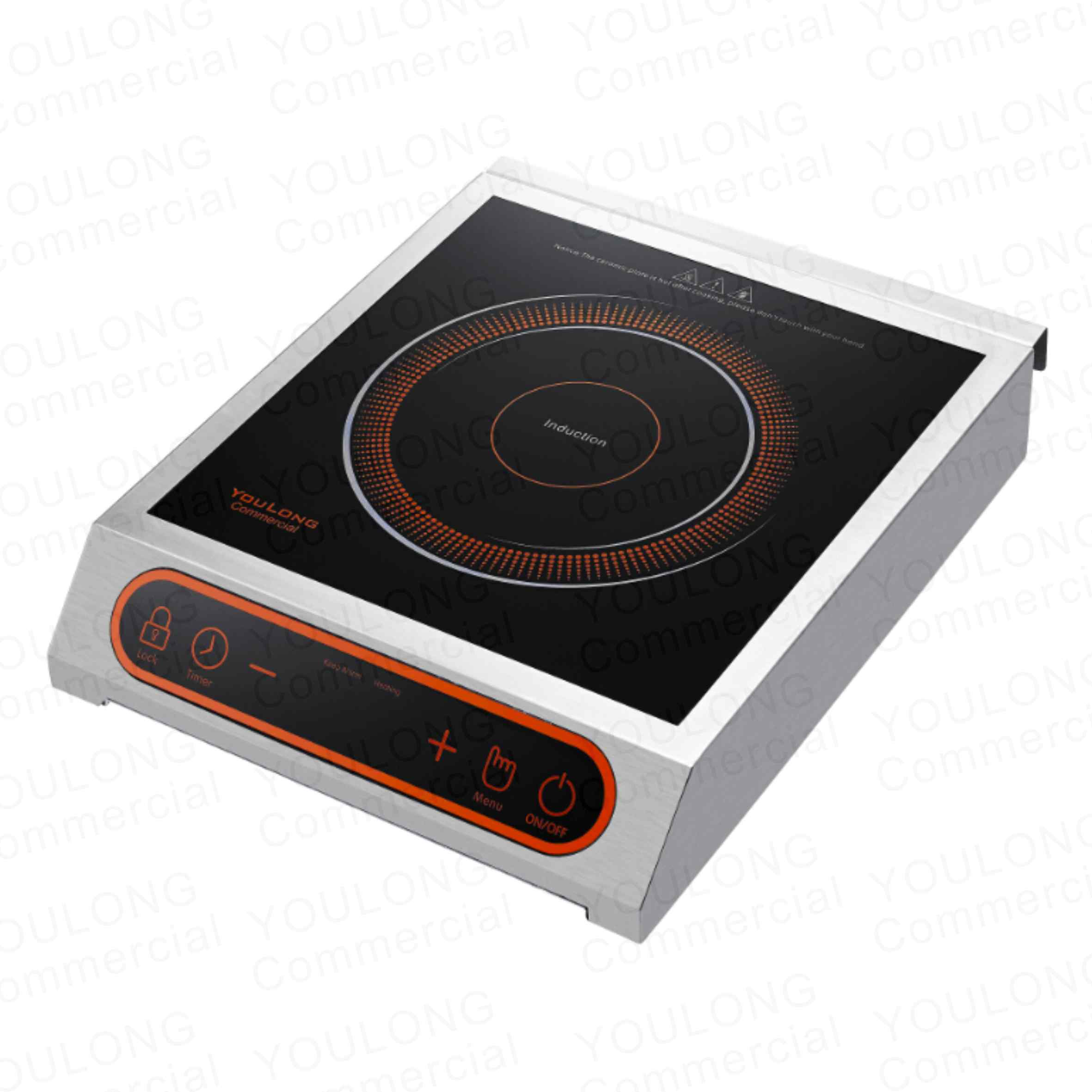 commercial induction cooker C2601-S Touch Control