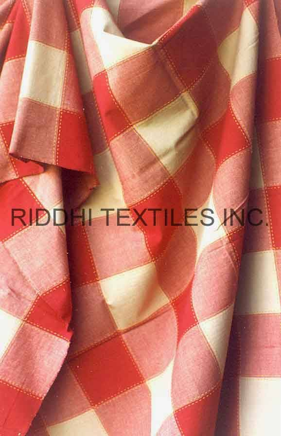 Check Cotton Bedspreads