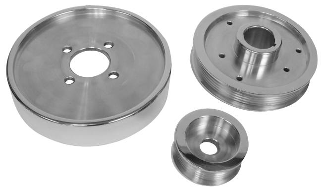 4.6 MUSTANG 01-04 GT & 96-99  01 COBRA 3-PC PULLEY SET