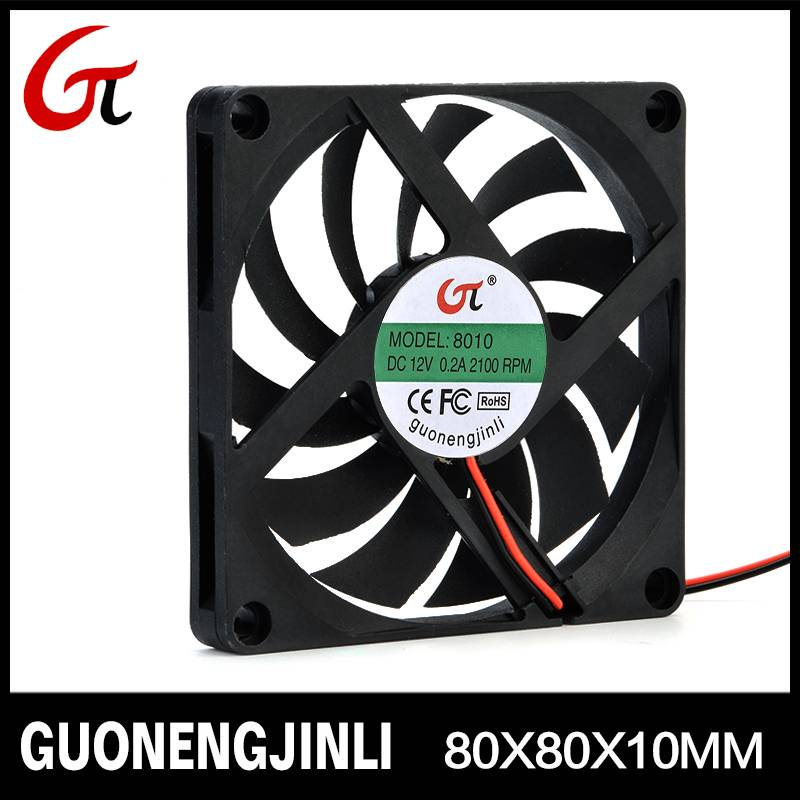 Manufacture selling 12V 8010 dc cooling fan with high speed for manicure lamp