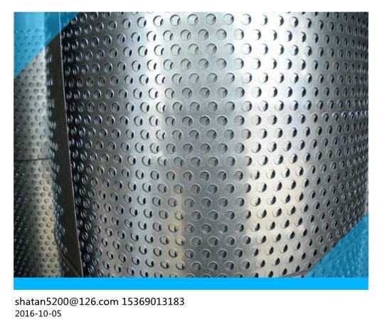 Aluminium / Perforated Metal Sheet Sheet For Noise Barrier 0.68 - 0.84mm